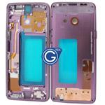 Samsung Galaxy S9 SM-G960F LCD Frame in Purple