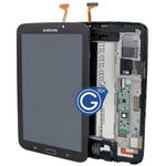 Samsung Galaxy Tab 3 7.0 WiFi Version SM-T210 Complete LCD with Digitizer and Frame in Brown