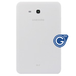 Samsung Galaxy Tab 3 Lite T110 (7.0 Wifi Version) Back Cover with Side Button in White