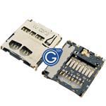 Samsung Galaxy Tab 4 7.0 SM-T230 T231 T235 Memory Card Reader