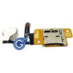 Samsung N5100 memory card reader flex with vibrator