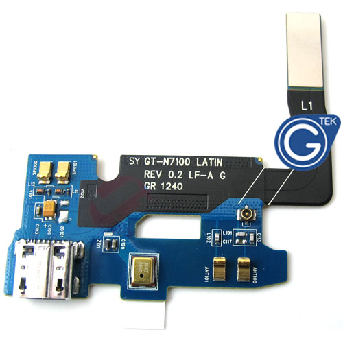 Samsung Note 2 N7100 Charging Connector Flex 0.2 Version