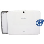 Samsung Galaxy Tab 3 10.1 3G Version GT-P5200 back cover with side button complete in white