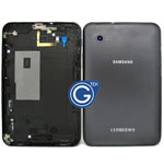 Samsung P6200 Back Cover with Side button in Black