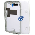 Samsung SM-T211 back cover with side button complete in white
