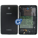 Samsung Galaxy Tab 4 7.0 Wifi Version SM-T230 Back Cover with Side Button and Loudspeaker in Black