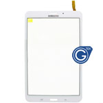 Samsung Galaxy Tab 4 8.0 LTE Version SM-T335,3G Version SM-T331 Digitizer in White