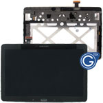 Samsung Galaxy Tab Pro 10.1 SM-T520 T521 T525 Complete LCD with Frame and Home Button in Black