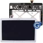 Samsung Galaxy Tab Pro 10.1 SM-T520 T521 T525 Complete LCD with Frame and Home Button in White