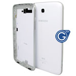 Samsung Galaxy Tab 3 7.0 WiFi Version SM-T210 back cover with side button complete in white