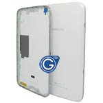 Samsung Galaxy Tab 3 8.0 3G Version T311 back cover with side button complete in white