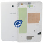 Samsung Galaxy Tab 3 8.0 T330 back cover with side button complete in white