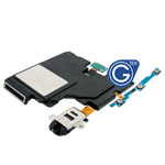Samsung Galaxy Tab S 10.5 T801 Loudspeaker unit Left with earphone and side button flex