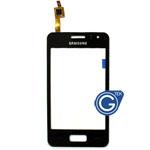 Samsung S7250 Wave M Digitizer in black