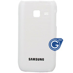 Samsung Wave Y S5380 back cover whtie