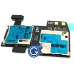 Samsung i9295 Galaxy S4 Active Sim Card with Memory Card Reader Flex