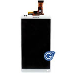 Sony L35h Xperia ZL LCD with digitizer in white