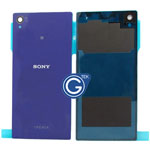 Sony L39h Xperia Z1 Battery Cover in Purple Highest quality