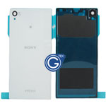 Sony L39h Xperia Z1 Battery Cover in White Highest quality