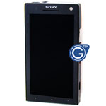 Sony Xperia S LT26i Complete LCD with Frame in Black