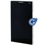 Sony Xperia S LT26i Complete LCD with Frame in White