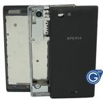 Sony ST26i Xperia J Housing in black
