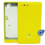 Sony ST27i Xperia go Housing in yellow