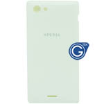 Sony Xperia J ST26i battery cover in white