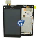 Sony Xperia L/ S36h Complete LCD with digitizer and frame in black