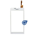 Sony Xperia SP M35h Digitizer Touch Screen in White