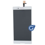 Sony Xperia T2 Ultra Dual XM50h Complete LCD with Digitizer in White