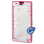 Sony Xperia Z1 Compact ,Xperia Z1 mini,D5503 Centre frame / chrome bezel with 3pcs small plug in Pink