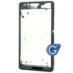 Sony Xperia Z3 (5.2 inch) Centre frame chrome bezel with 2pcs small plug in Black