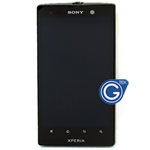 Sony Xperia ion LT28i Complete lcd with digitizer and Frame in black