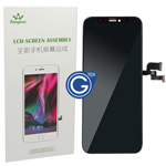 iPhone X LCD and Touchpad Assembly in Black (TFT lcd not OLED) - (Kingwo)