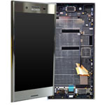 Genuine Sony Xperia XZ Premium (G8141) Lcd with touchpad and frame in Chrome P/N: 1307-9861