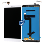 Xiaomi Max 2 Complete LCD with Touchpad Assembly in White - OEM