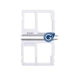 Samsung Galaxy A3/A5/A7 (2016) SM-A310F/A510F/A710F Sim and Micro SD Card Holder in White