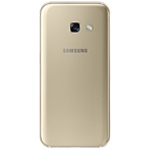 Genuine Samsung SM-A320 Galaxy A3 (2017) Back Cover in Gold - Samsung part no: GH82-13636B
