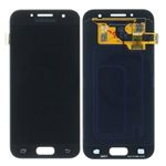 Genuine Samsung Galaxy A3 2017 (SM-A320F) Lcd with Touchscreen in Black - Samsung part no : GH97-19732A