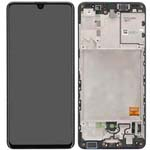 Genuine Samsung Galaxy A41 (A415F) Lcd and Touchpad In Black - Part no: GH82-22860A