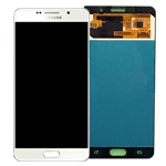 Genuine Samsung SM-A710 Galaxy A7 Complete Lcd with Digitizer Assembly in White - Samsung part no: GH97-18229C