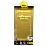 New Case  Airpillow Transparent Gel Case for iPhone 7 in Retail Packaging