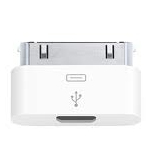 Genuine Apple iPhone Micro USB Adapter MD099ZM/A for iPhone 4s, 4, 3GS, 3G - New Bulk packed