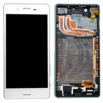 Genuine Sony (F8131)/ Xperia X Performance/X Dual Performance (F8132) Complete Lcd with Digitiser in White-Sony part no: 1302-3675