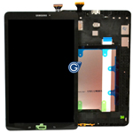 Genuine Samsung T-560 Galaxy Tab E Complete Lcd with Digitizer in Black-Samsung part no:GH97-17525A