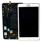 Genuine Samsung SM-T235 Galaxy Tab 4 7.0 LTE Complete Lcd with Touchscreen in White-Samsung part no: GH97-16036B