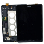 Genuine Samsung SM-T555 Galaxy Tab A Complete Lcd with Touchscreen in Black-Samsung part no: GH97-17424D