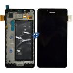 Genuine Microsoft Lumia 950, Lumia 950 Dual Sim, Lumia 950 LTE Complete Display LCD with Digitizer Touchscreen-Microsoft part no: 00814D7