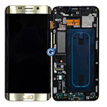 Genuine Samsung SM-G928F Galaxy S6 Edge Plus Complete Front LCD with Touchscreen in Gold- Samsung part no: GH97-17819A